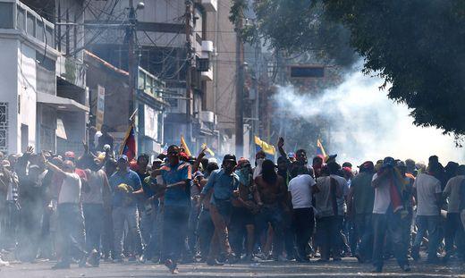 VENEZUELA-COLOMBIA-CRISIS-BORDER-DEMO