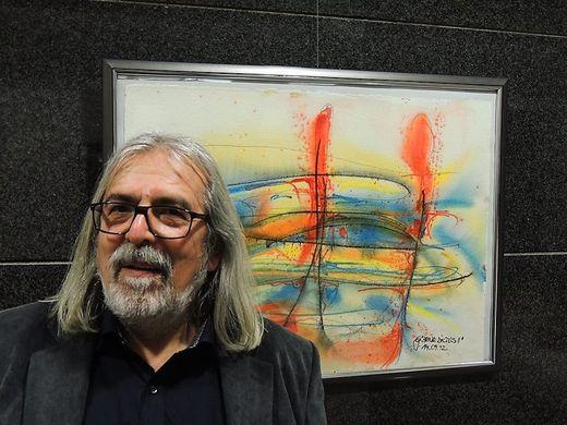Künstler Gernot Pucher stellt aus