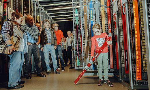"""Für Kinder, aber auch für Erwachsene bietet das Wintersportmuseum """"Tonis Erlebnisweg"""""""