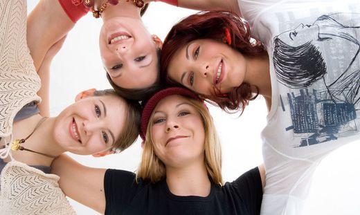 Jugendliche wollen mit Freunden chillen