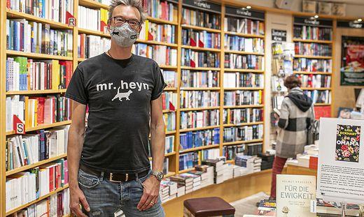 Helmut Zechner vom Heyn drückt bei Maskenverweigerern kein Auge zu – auch wenn er sie als Kunden verlieren sollte