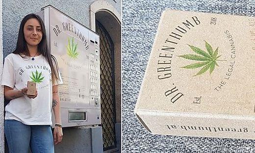 """Automaten der Marke """"Dr. Greenthumb"""" stehen ab sofort in Graz"""