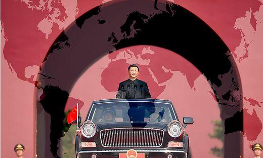 Unter Staats - und Parteichef Xi Jinping stellt China seinen globalen Machtanspruch offen zur Schau
