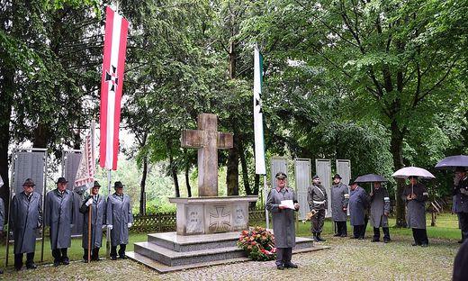 Am Soldatenfriedhof in Lang haben 1670 Soldaten ihre letzte Ruhestätte gefunden