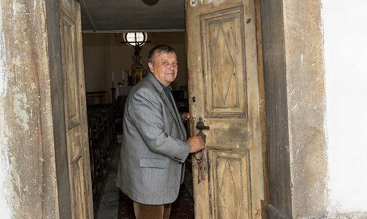 Erich Blüml lag die Pfarre St. Peter sehr am Herzen, er war Obmann des Pfarrgemeinderates