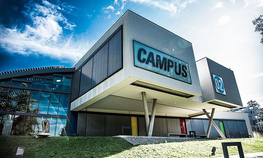 Der Campus 02 in Graz