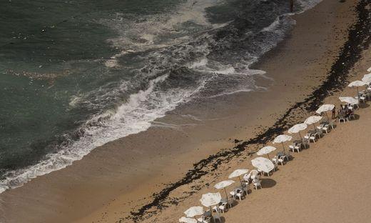 An diesem Strand in Alexandria ertranken fast ein Dutzend Menschen