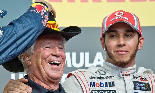 Mario Andretti, Lewis Hamilton