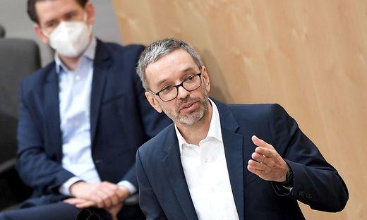 FPÖ-Klubobmann Herbert Kickl will in dem Fall durch alle Instanzen gehen