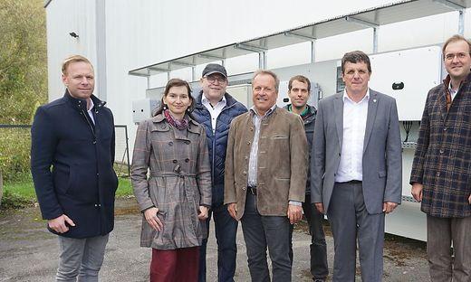 Die größte PV-Anlage der Stadt wurde offiziell eröffnet