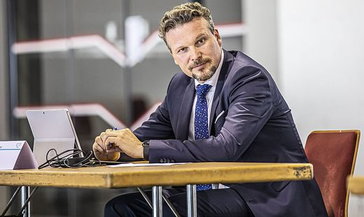 FPÖ-Spitzenkandidat Wolfgang Germ