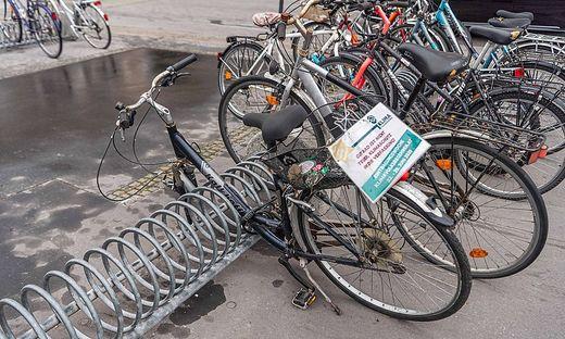 Räder sind in Graz begehrte Güter und oft Diebsware.