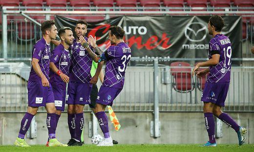 Können die Violetten am letzten Spieltag doch noch jubeln?