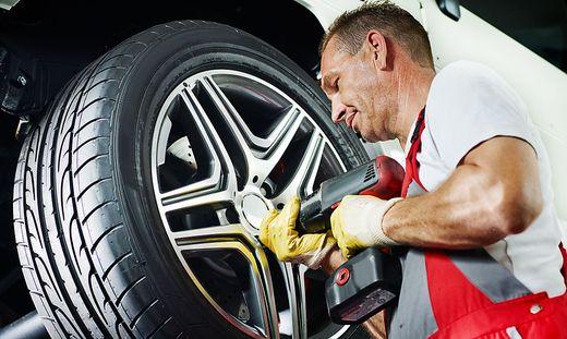 Fachgerecht montierte Reifen müssen halten!