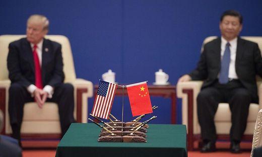 US-Präsident Trump und Chinas Präsident Xi Jinping: Konflikt steht im Vordergrund