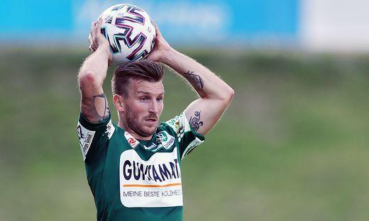 Der Kärntner Manuel Kerhe will mit Ried in die Bundesliga