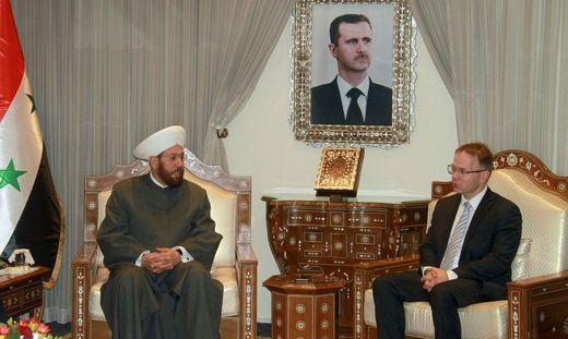 SYRIA-GERMANY-DIPLOMACY-PARLIAMENT