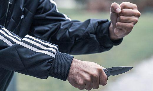 Der Sohn drohte mit einem Messer - Symbolfoto