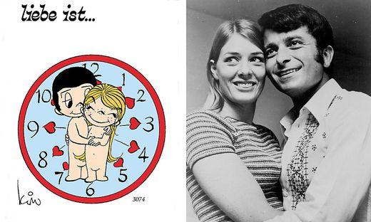 """Kim und Roberto Casali: Sie sind die Vorbilder für die """"Liebe ist ...""""-Cartoons"""