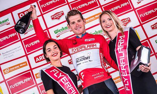 Gesamtführender Ben Hermans (Israel Cycling Academy, BEL)