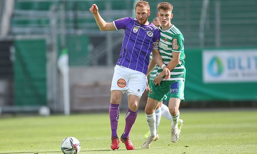 SOCCER - 2. Liga, Rapid II vs A.Klagenfurt