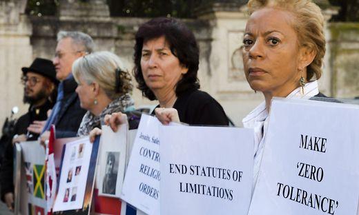 Für Samstag wurde eine Demonstration der Opferschutzorganisation ECA anberaumt