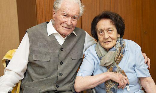 Friedrich (97) und Ernestine (96) Streminger