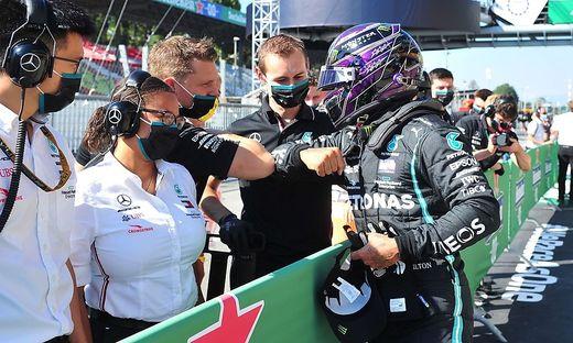 Lewis Hamilton war im Qualifying der Schnellste
