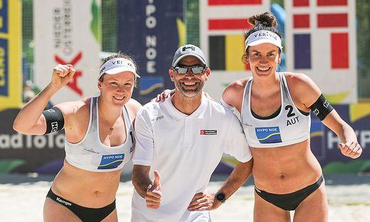 Katharina Schützenhöfer, Martin Plessl und Lena Plesiutschnig (von links)