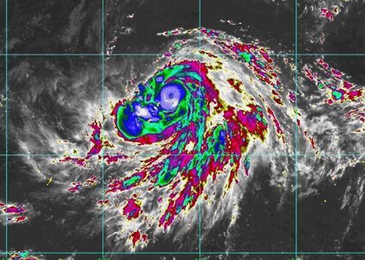 Der Taifun Hagibis