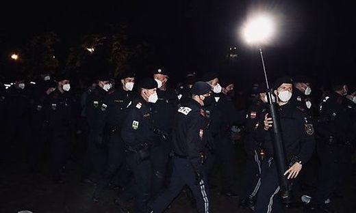 Stadtpark Polizei