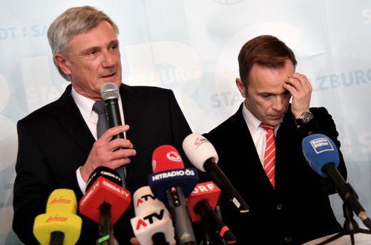 Harald Preuner (ÖVP) and Bernhard Auinger (SPÖ)