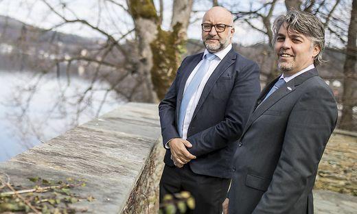 """Die neuen Stadtwerke-Chefs Harald Tschurnig (links) und Erwin Smole über das Geschäftsjahr 2019: """"Aus heutiger Sicht wird es 2020 nicht zu einer Dividendenausschüttung an die Stadt kommen."""""""