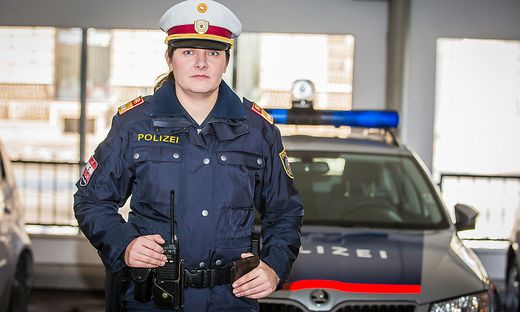 Daniela Puffing Bezirkspolizeikommandantin Obstlt. Daniela Puffing B.A. M.A.