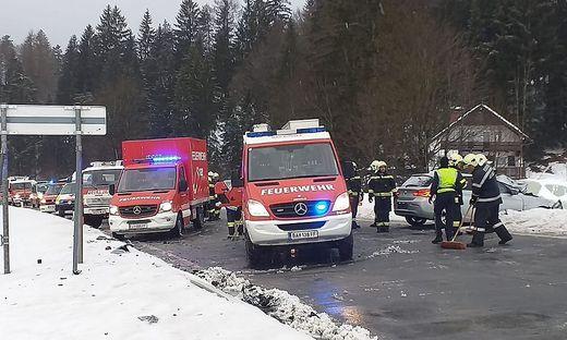 Unfall an der B145