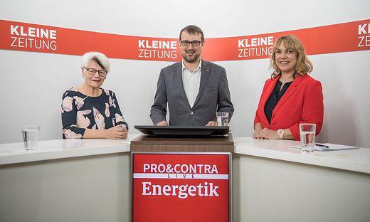Krista Federspiel, Gesellschaft für kritisches Denken diskutierte mit der Humanenergetikerin Ingrid Karner