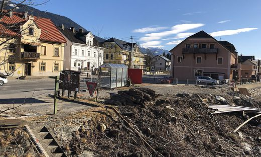 Hochwasserschutz in Möllbrücke