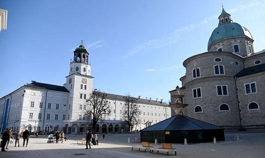 Auf diesem Platz in Salzburg ereignete sich der Vorfall