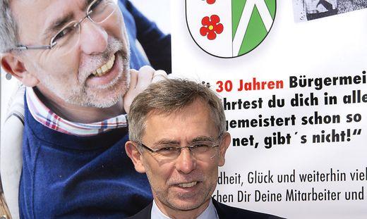30 Jahre Bürgermeister: Gerald Maier aus Ebersdorf