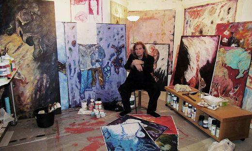 Willy Rast stellt mit drei anderen Künstlern in Köflach aus