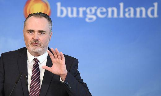 CORONA: PK 'ENTSCHEIDUNG UeBER WEITERE VORGANGSWEISE BETREFFEND LOCKDOWN IM BURGENLAND' - DOSKOZIL