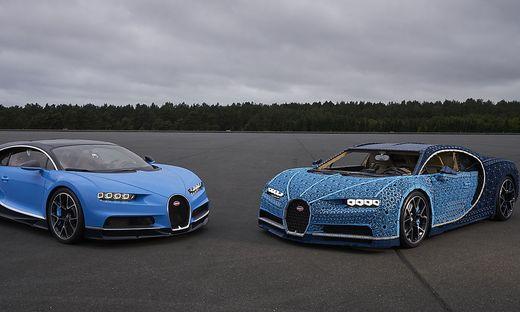 4b467d97b6a8cf Bugatti Chiron : Eine Million Teile: Lego baut Sportwagen in ...