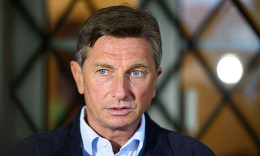 Sloweniens Staatspräsident Borut Pahor