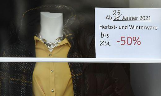 Der Modehandel ist vom Lockdown besonders stark betroffen