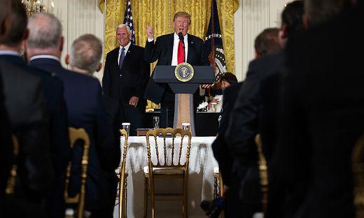Trump kündigt Weltraumarmee an
