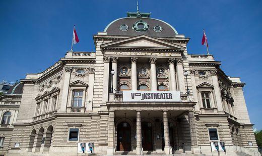 Volkstheater Wien Außenansicht Anna Badora Nachfolge