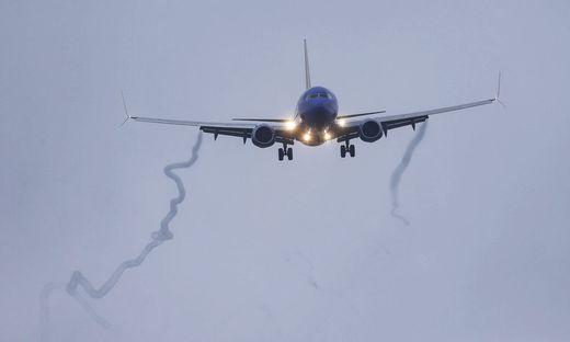 Eine Boeing 737 im Flug