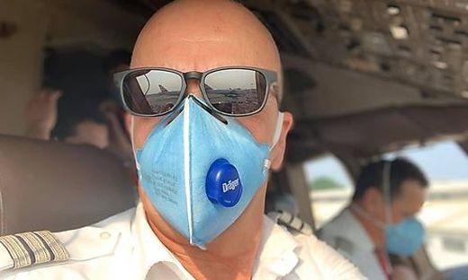 Hary Raithofer aus Langenwang an Bord der Boeing 777