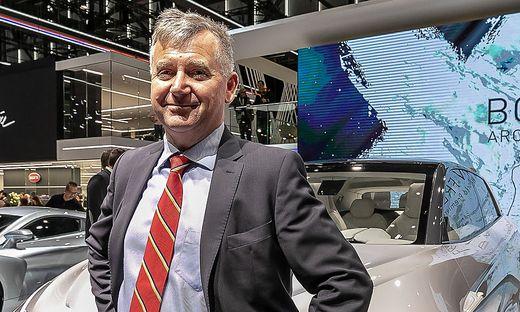 Magna Europa-Präsident Günther Apfalter