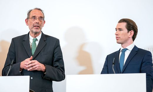 Bildungsminister Heinz Faßmann, Kanzler Sebastian Kurz